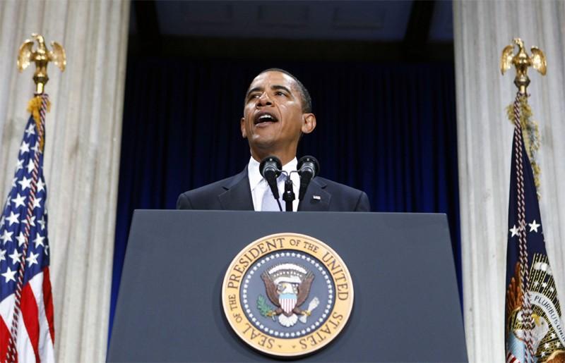 Barack Obama discute de la crise financière le... (Reuters)