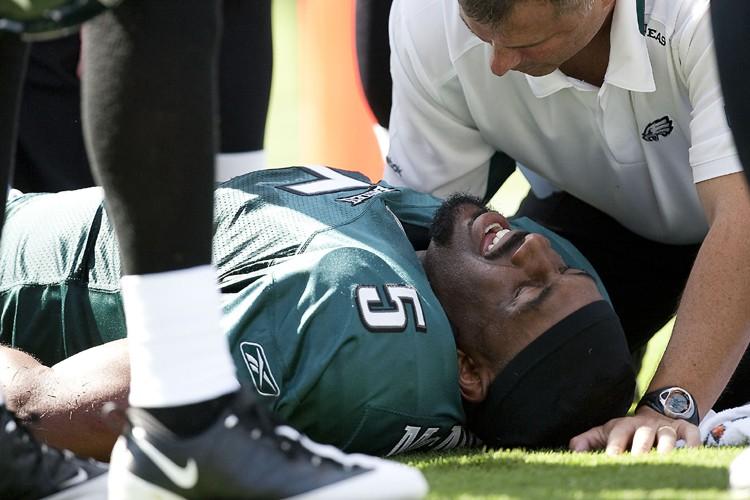 Donovan McNabb souffre de côtes fracturées.... (Photo: Reuters)