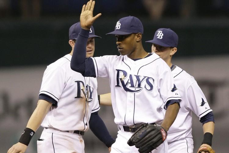 Les Rays de Tampa Bay ont mis un terme à leur séquence de 11... (Photo: AP)
