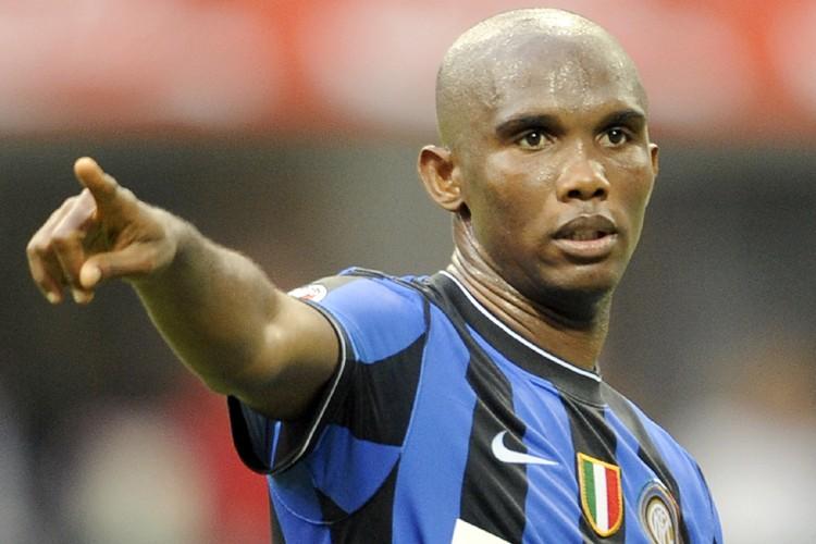 L'attaquant de l'Inter Milan, Samuel Eto'o... (Photo: AFP)