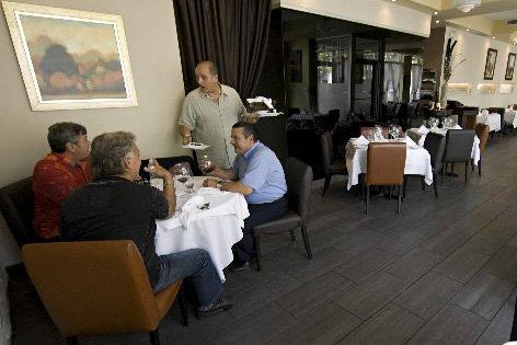 Le restaurant I Sensi, dans la Petite Italie,... (Photo: David Boily, La Presse)