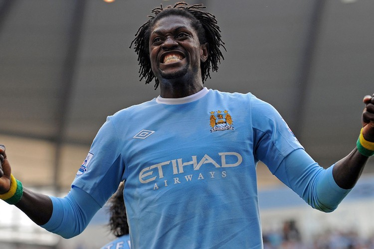 Emmanuel Adebayor... (Photo: AFP)
