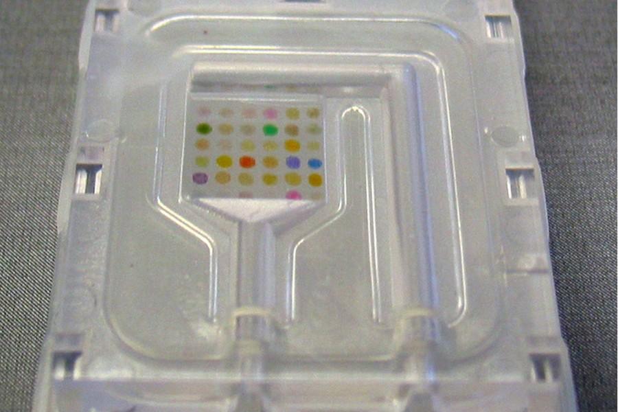 Ce nez artificiel utilise 36 pigments différents dont... (Photo: AFP)