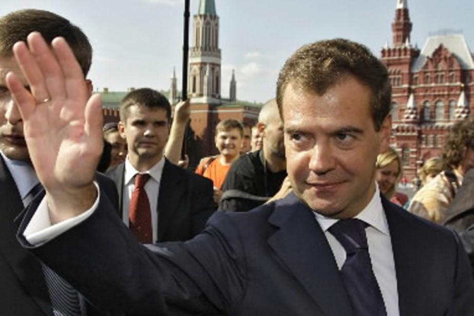 Enchaînant les commentaires parfois énigmatiques, Dmitri Medvedev a... (Photo Reuters)