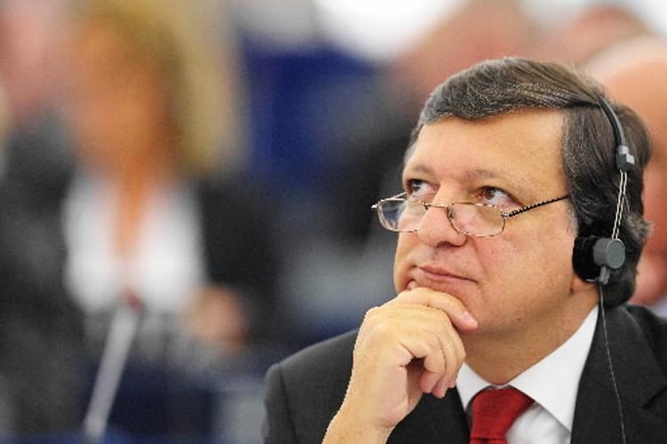 Le président de la Commission européenne José Manuel... (Photo: AFP)