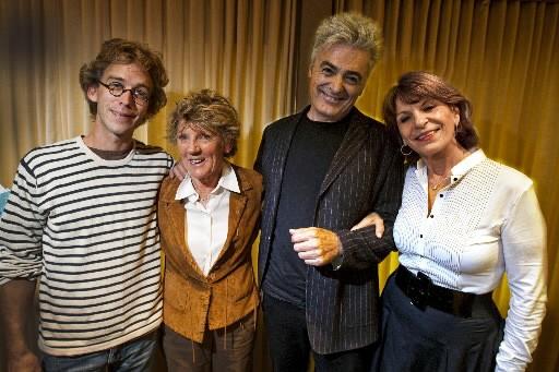 Fred Pellerin, Clémence Desrochers et Daniel Lavoie ont... (Photo André Pichette, La Presse)