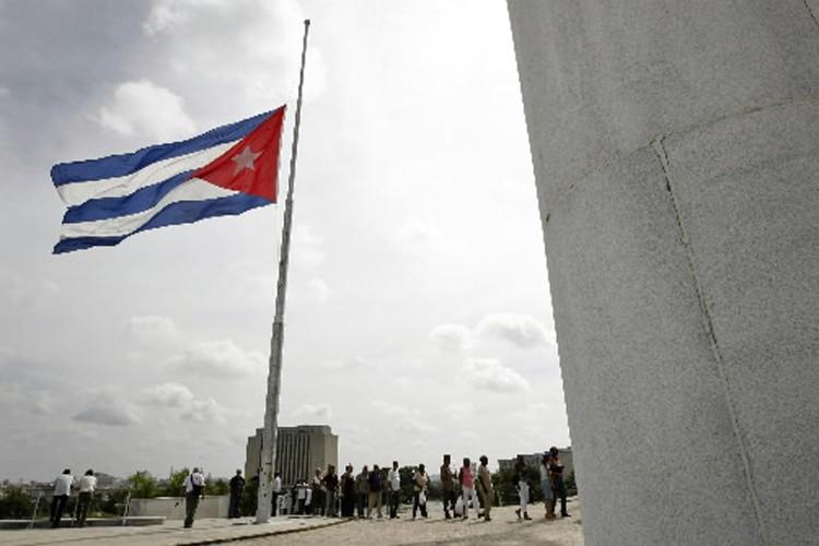 Le drapeau cubain.... (Photo: Reuters)