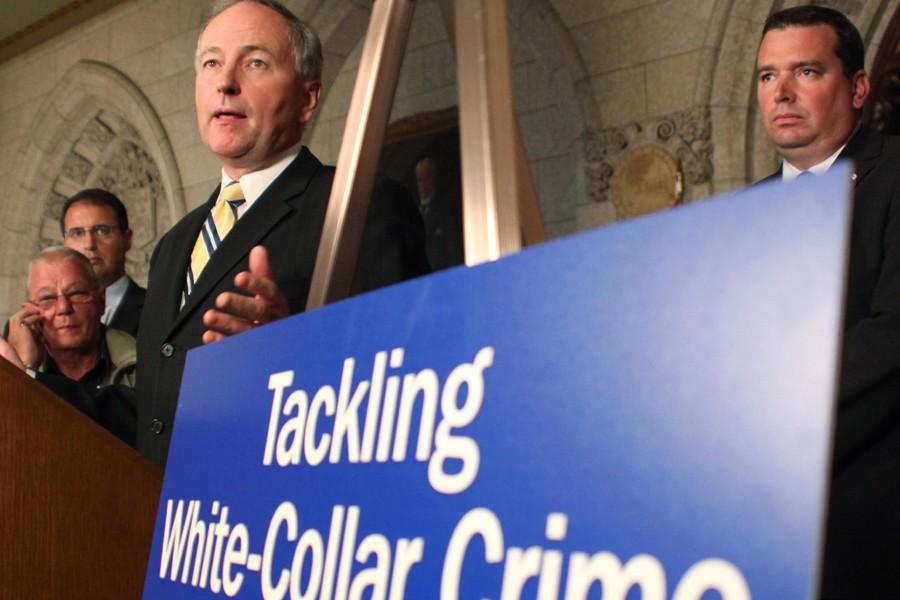 Le ministre de la Justice, Rob Nicholson, s'est... (Photo: PC)