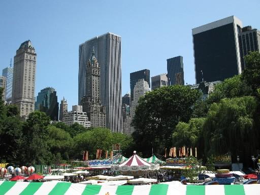 Central Park, un incontournable de la vie à... (Photo: André Duchesne, La Presse)