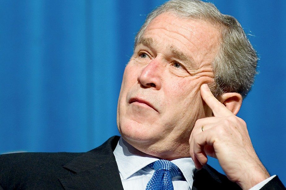 George W. Bush, en 2008.... (Photo archives AFP)