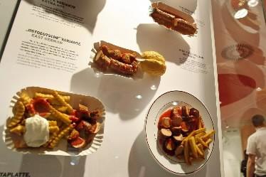 Une fiche explicative au musée allemand de la... (Photo: AP)