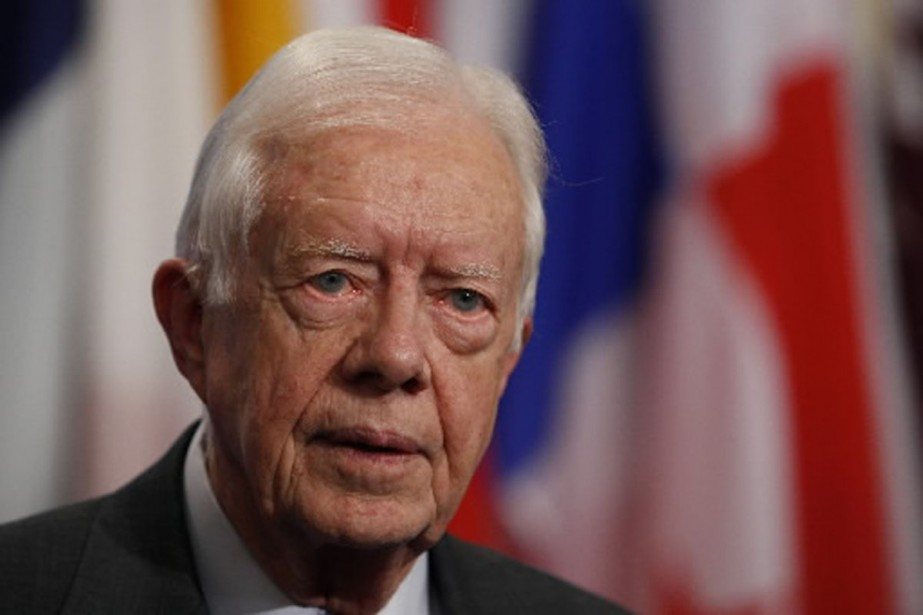Jimmy Carter, en 2007.... (Photo archives AFP)
