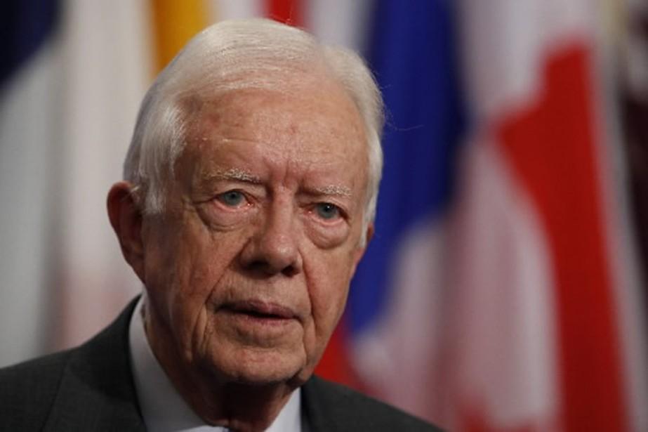 Jimmy Carter, en 2007.... (Photo archives AFP)