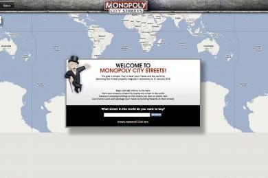 Le lancement du jeu de société virtuel «Monopoly City Streets» de l'éditeur...