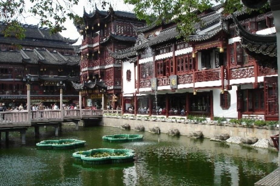 48 heures shanghai cyberpresse for Jardin yu shanghai