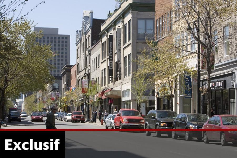 La rue Sainte-Catherine est en voie de devenir... (Photo: Archives La Presse)