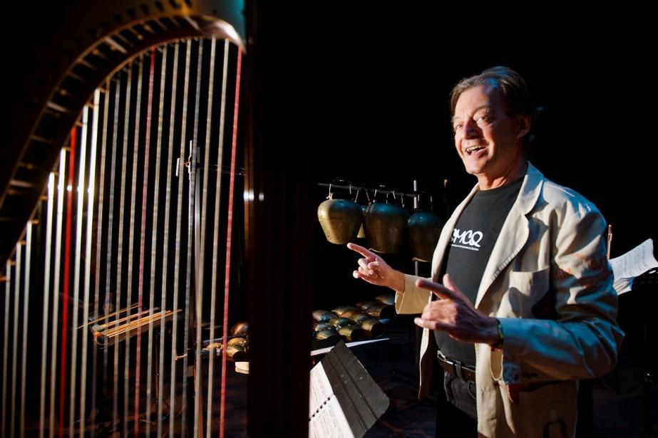Walter Boudreau, directeur artistique de la SMCQ, hier... (Photo: André Pichette, La Presse)