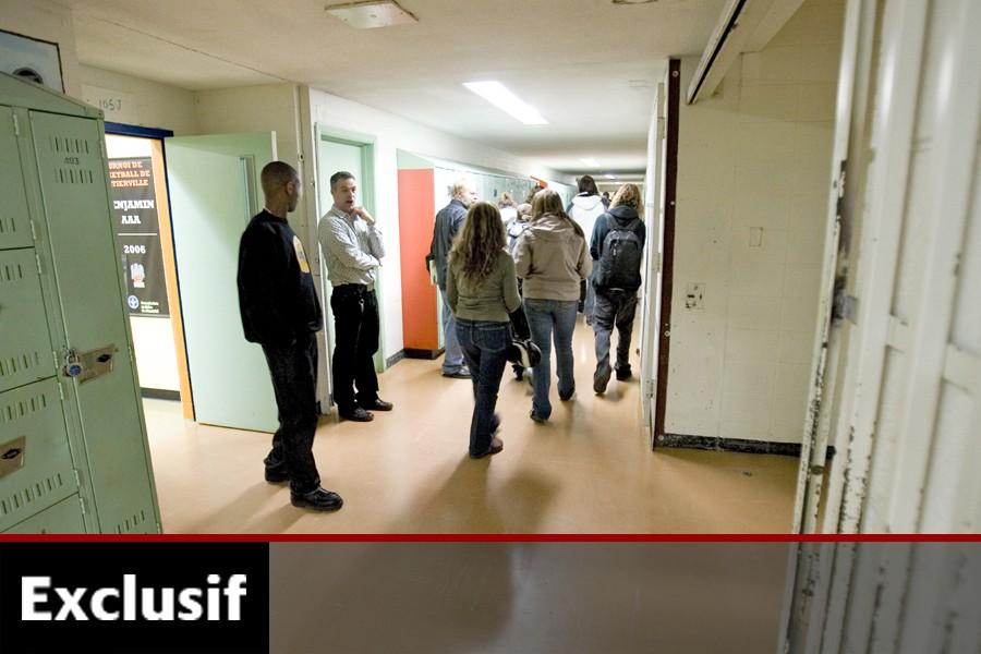 Trois semaines après la rentrée, les élèves de... (Photo: Alain Roberge, Archives La Presse)