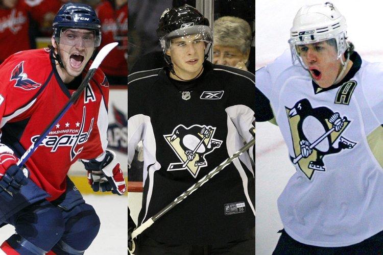 Les trois premiers joueurs sélectionnés dans le pool... (Photos: AP)