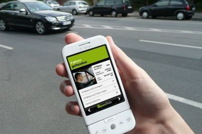 L'application openride... (Relaxnews)