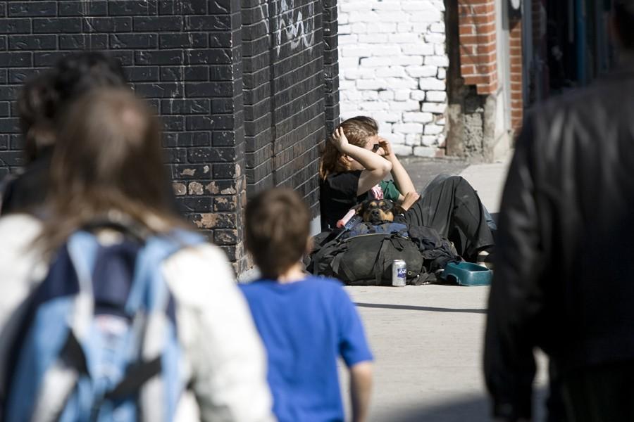 Une nouvelle étude sur la pauvreté estime... (Photo: André Pichette, La Presse)