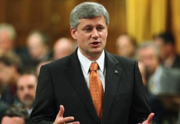 Stephen Harper, chef du Parti conservateur et premier... (Photo PC)