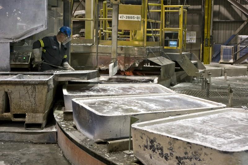 La croissance des ventes dans l'industrie des métaux... (Photo Rémi Lemée, La Presse)