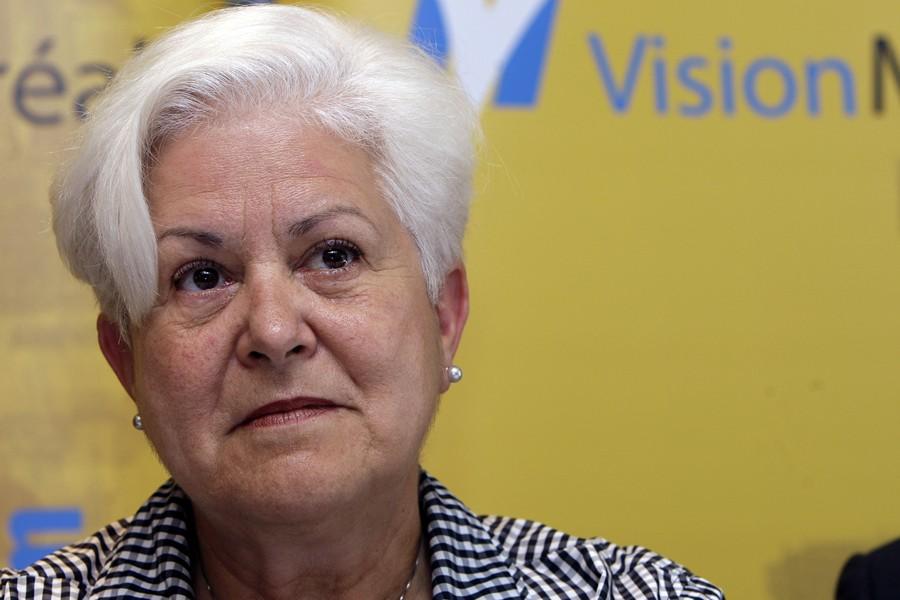 La chef de Vision Montréal, Louise Harel, a... (Photo: Robert Mailloux, Archives La Presse)