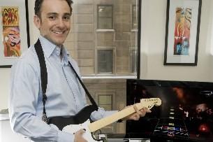 Alain Tascan, vice-président et directeur général d'Electronics Arts...