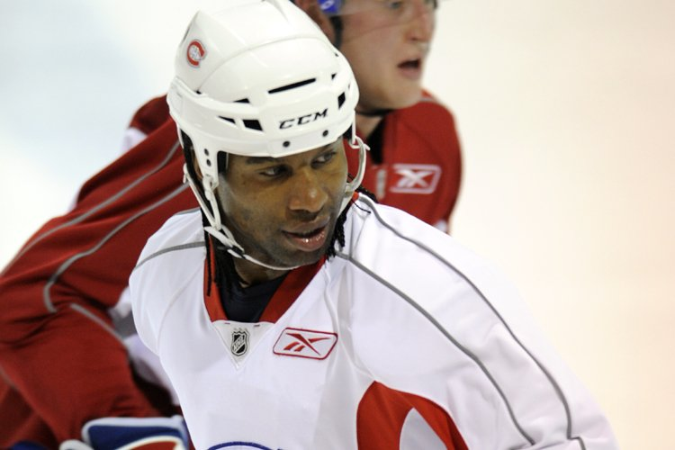 Georges Laraque... (Photo: Bernard Brault, La Presse)