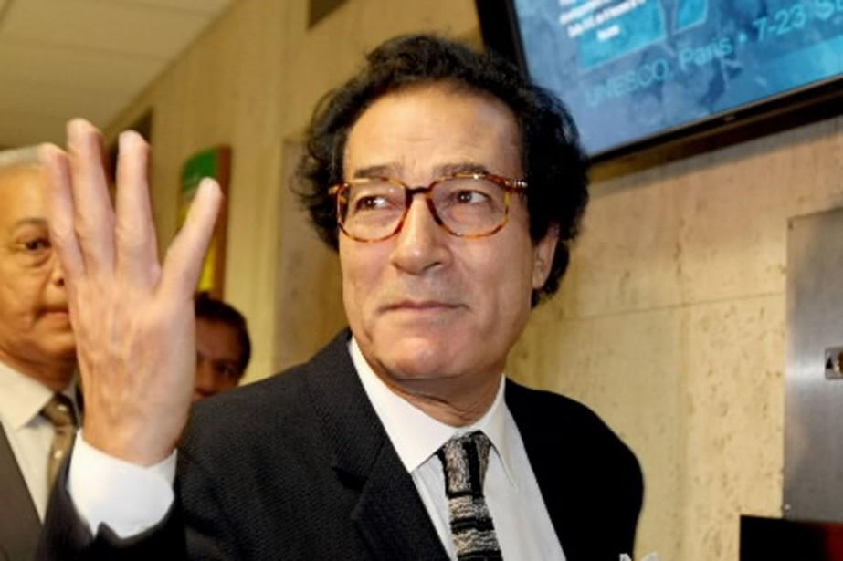 La perspective de voir Farouk Hosni à la... (Photo AP)