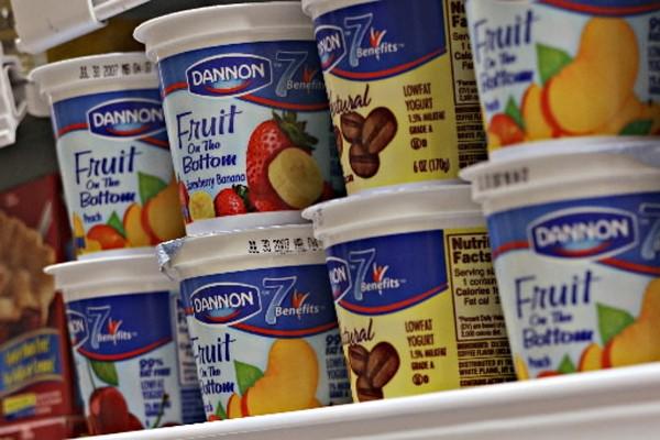 Dannon, filiale américaine du groupe d'alimentation... (Photo: Bloomberg)