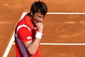 Juan Carlos Ferrero a vaincu Dudi Sela 6-4,... (Photo: AP)