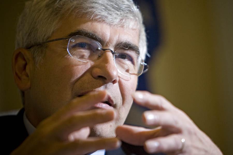 Le ministre du Développement économique, Clément Gignac, rappelle... (Photo: Patrick Sanfaçon, Archives La Presse)