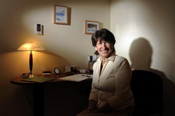 Jacqueline  Arbogast, psychothérapeute et coauteure du livre... (Photo: Bernard Brault, La Presse)
