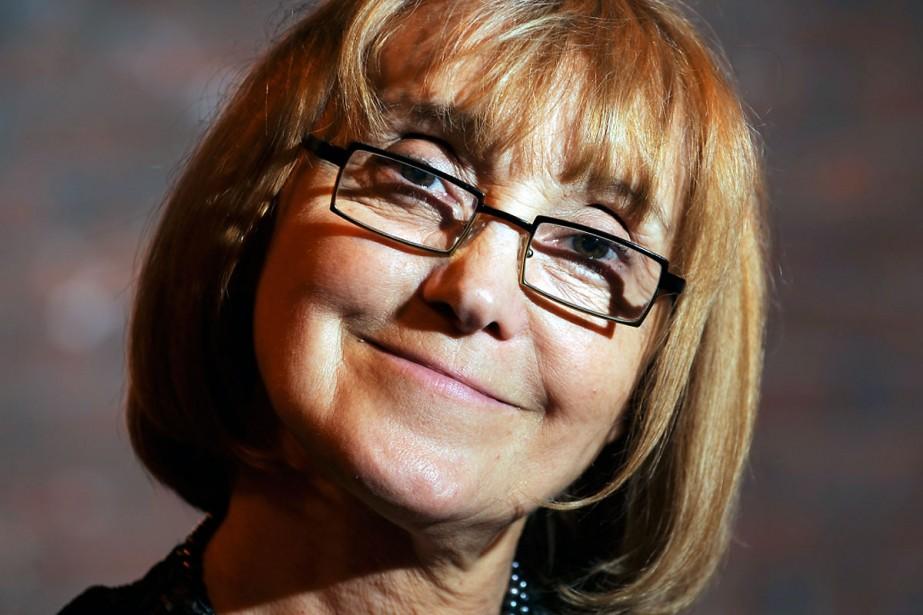 Yvonne Laflamme qui a joué le rôle de... (Photo: Bernard Brault, La Presse)