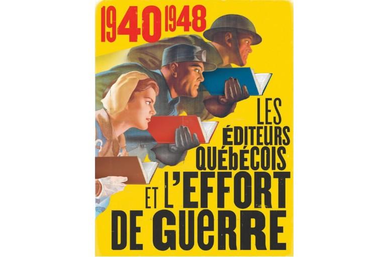 Version modifiée d'une affiche originale d'Hubert R. Rogers... (Photo Bibliothèque et Archives nationales du Québec)