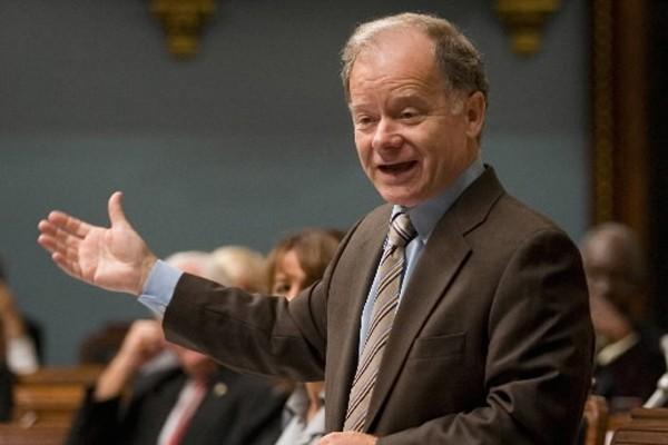 Le ministre des Finances, Raymond Bachand.... (Photo: PC)