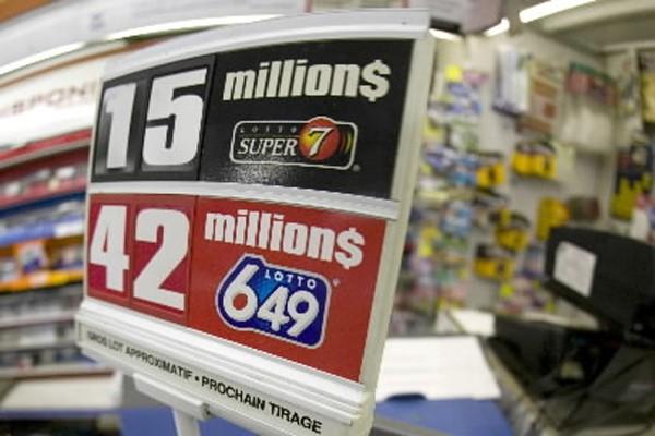 Le dernier gros lot de l'histoire du Lotto... (Photo: David Boily, La Presse)