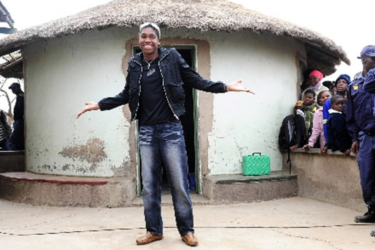 Caster Semenya... (Photo: Reuters)