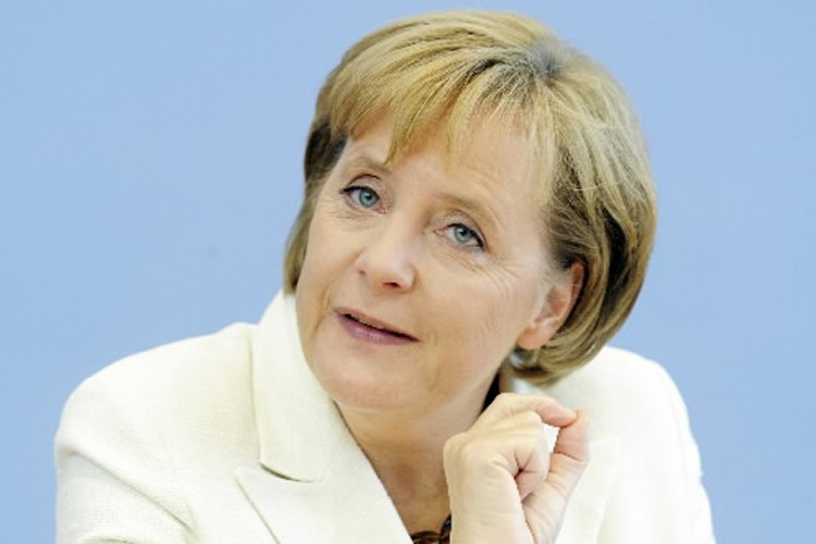 Angela Merkel... (Photo: AFP)