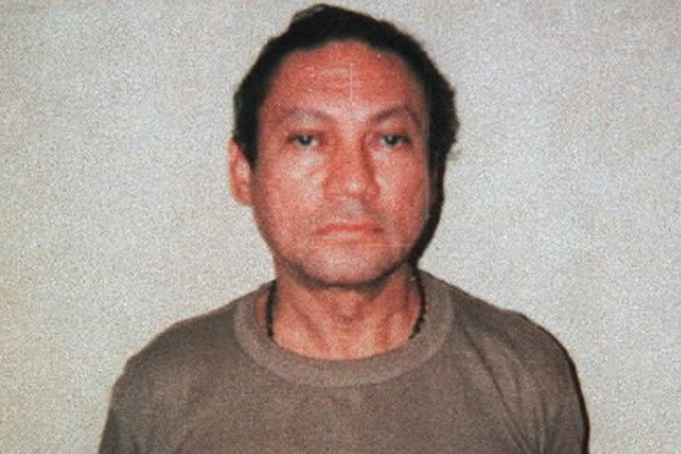 L'ancien dictateur panaméen Manuel Noriega.... (Photo: AP)