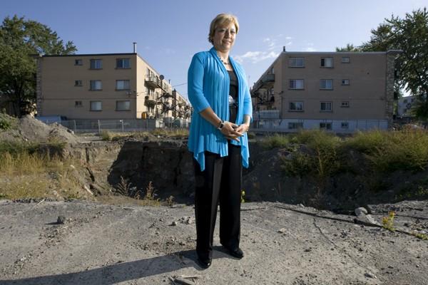 Brunilda Reyes est candidate au poste de conseillère... (Photo: Alain Roberge, La Presse)