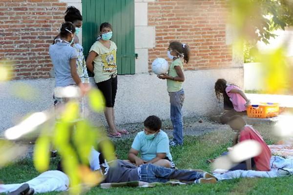 Aux Mathes, dans l'ouest de la France, 86... (Photo: AFP)