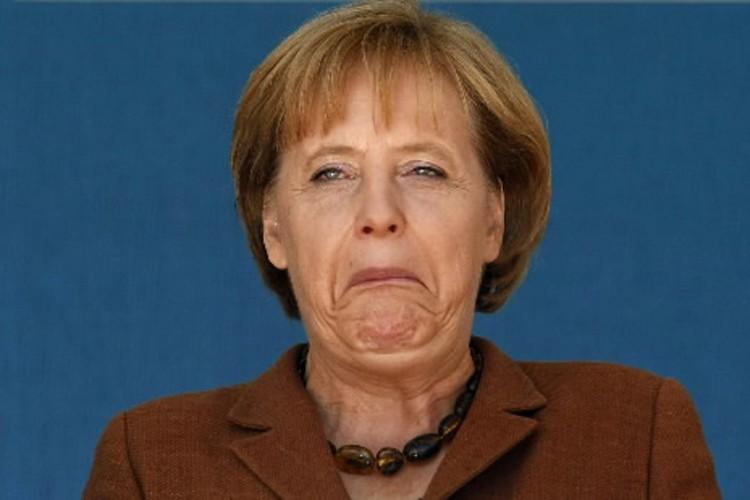 Angela Merkel ne s'affiche que très rarement aux... (Photo: Reuters)