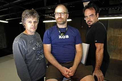 Réal Bossé, Christian Leblanc et Pascal Contamine... (Photo Robert Mailloux, La Presse)