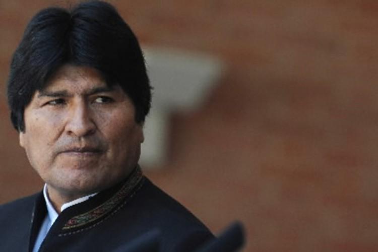 Le président bolivien Evo Morales.... (Photo: AFP)