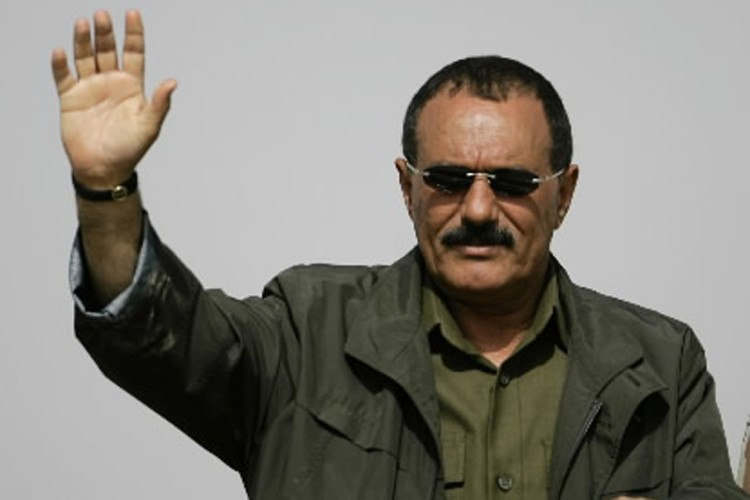 Le président yéménite, Ali Abdallah Saleh.... (Photo: Reuters)