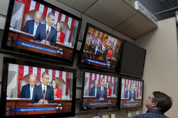 Le président américain Barack Obama effectue dimanche un blitz... (Photo: AP)
