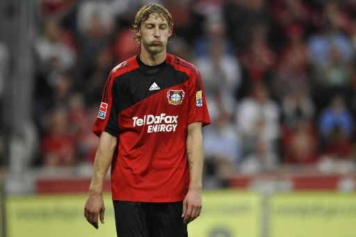 Stefan Kiessling réagit après le match nul de... (Photo Reuters)